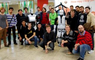 pal robotics open day morning