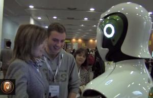 Robot REEM at La Salle.