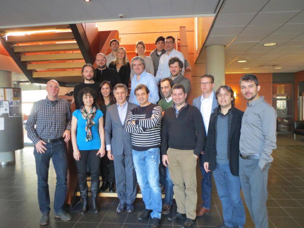Healthcare robotics. GrowMeUp project partners in the kick-off. Source: GrowMeUp