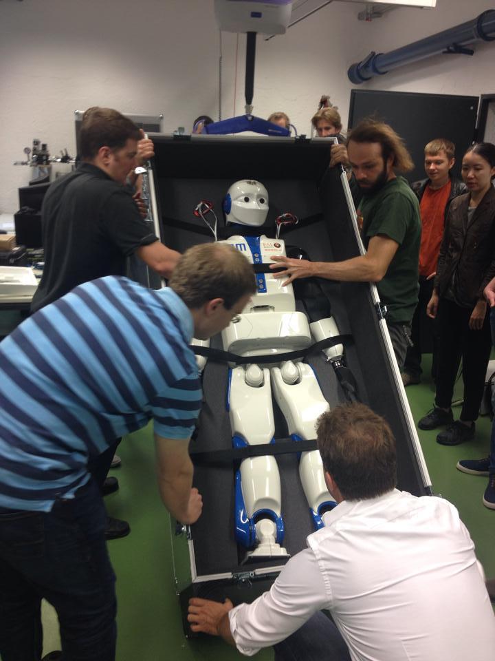 REEM-C robot. Credits: TUM
