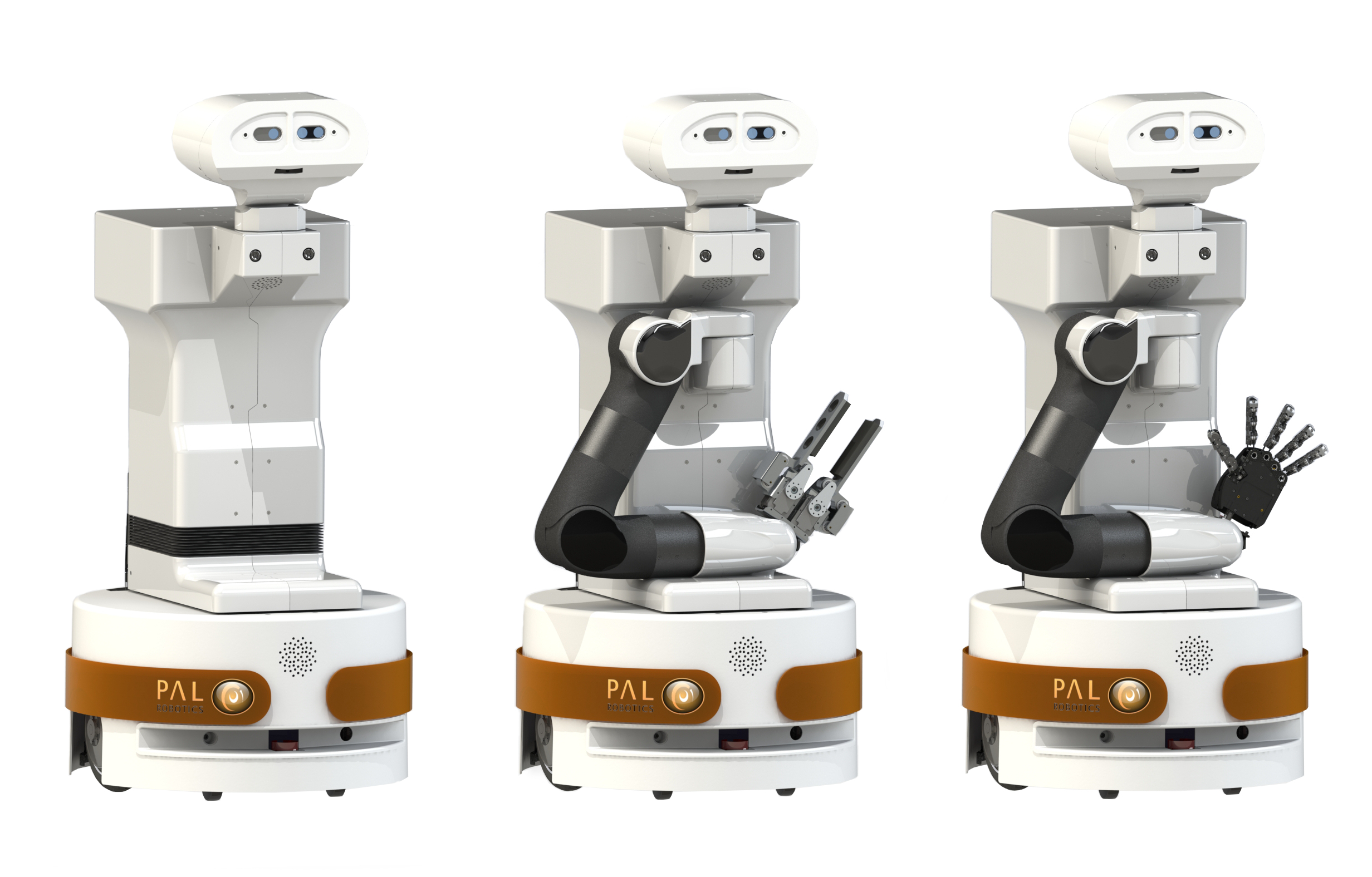 Mobile manipulator TIAGo. PAL Robotics.