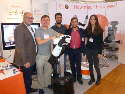 PAL Robotics at IROS 2015