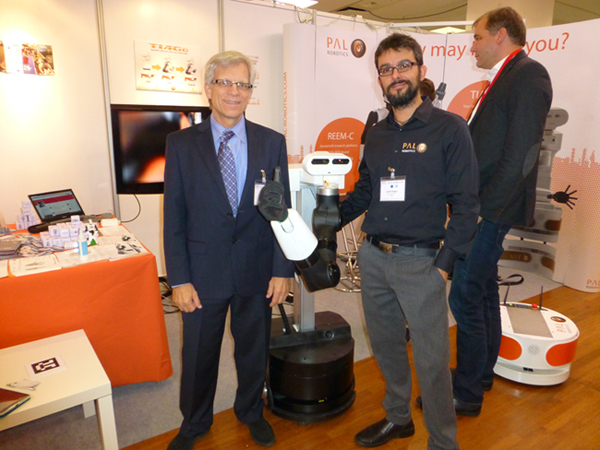 ATI and PAL Robotics at IROS 2015