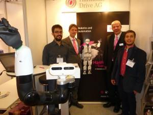 Harmonic Drive and PAL Robotics at IROS 2015