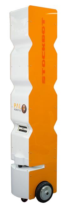 StockBot inventory RFID robot