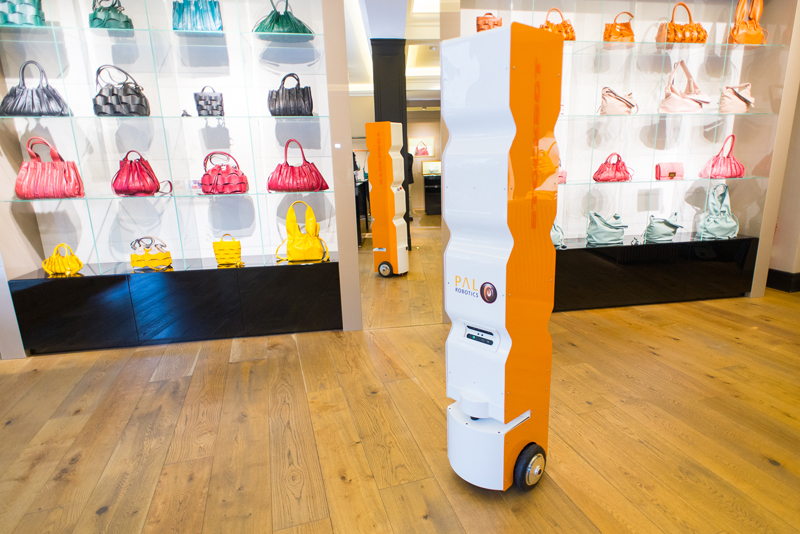 StockBot automates inventory-taking combining robotics and RFID