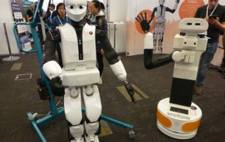 Robots from PAL Robotics at ICRA 2016
