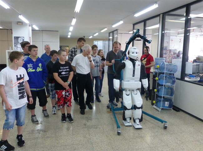 Edison Klub at PAL Robotics offices