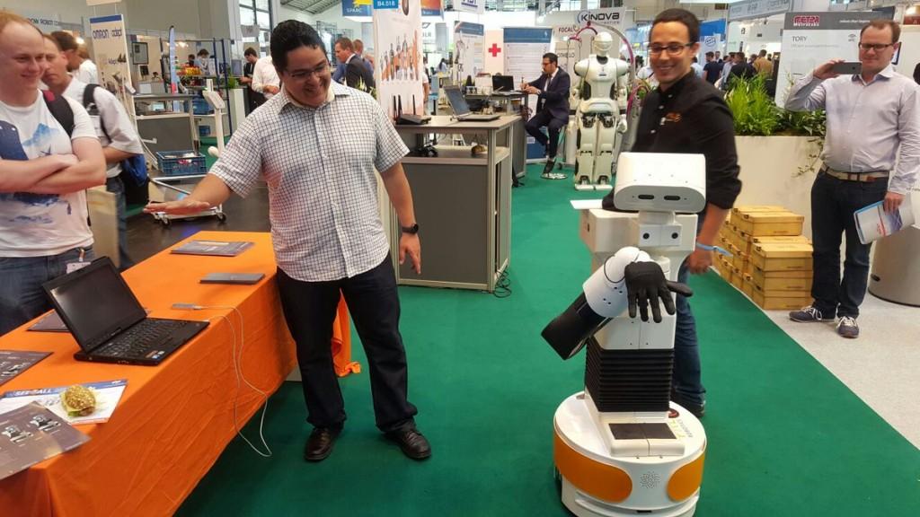 TIAGo PAL Robotics Automatica 2016