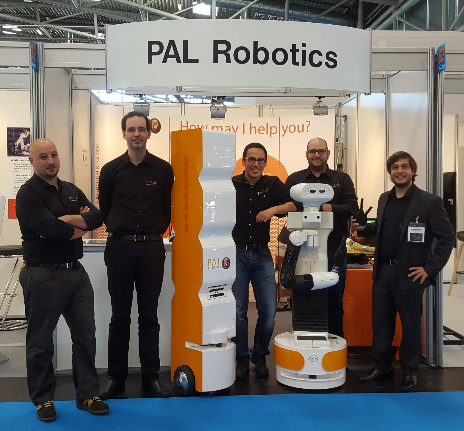 PAL Robotics Automatica 2016 Team