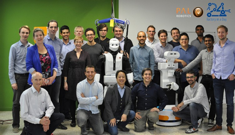 Factory in a Day project consortium at PAL Robotics