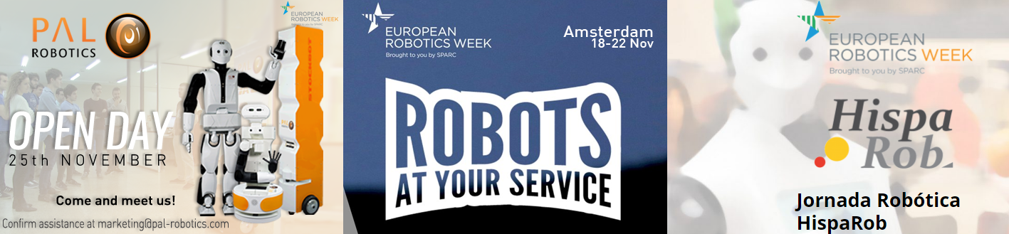 PAL Robotics with the EU Robotics Week 2016