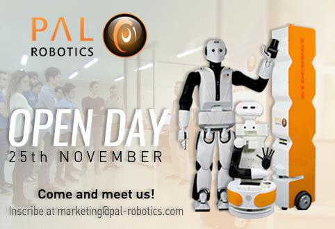 PAL Robotics Open Day