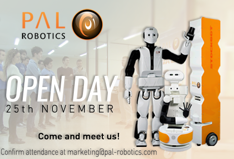 PAL Robotics Open Day ERW2016