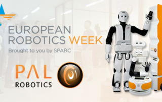PAL Robotics with the EU Robotics Week