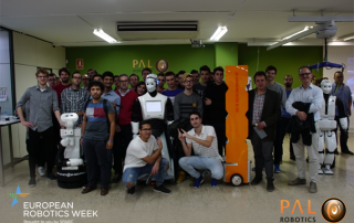 PAL Robotics Open Day #ERW2016 EU Robotics