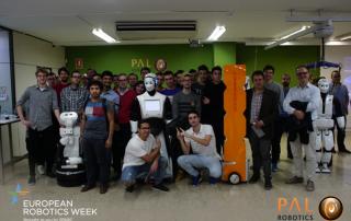 PAL Robotics Open Day #ERW2016 EU Robotics
