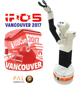 ROSCon&IROS 2017 PAL Robotics