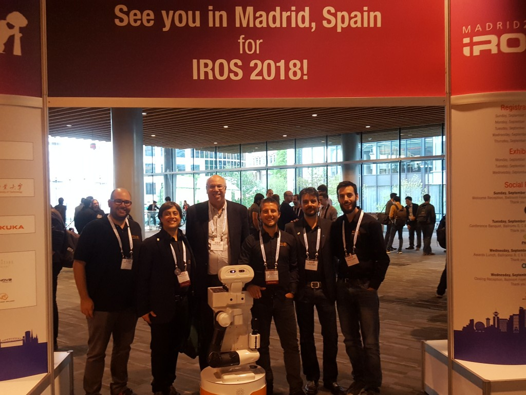 IROS2018 Madrid
