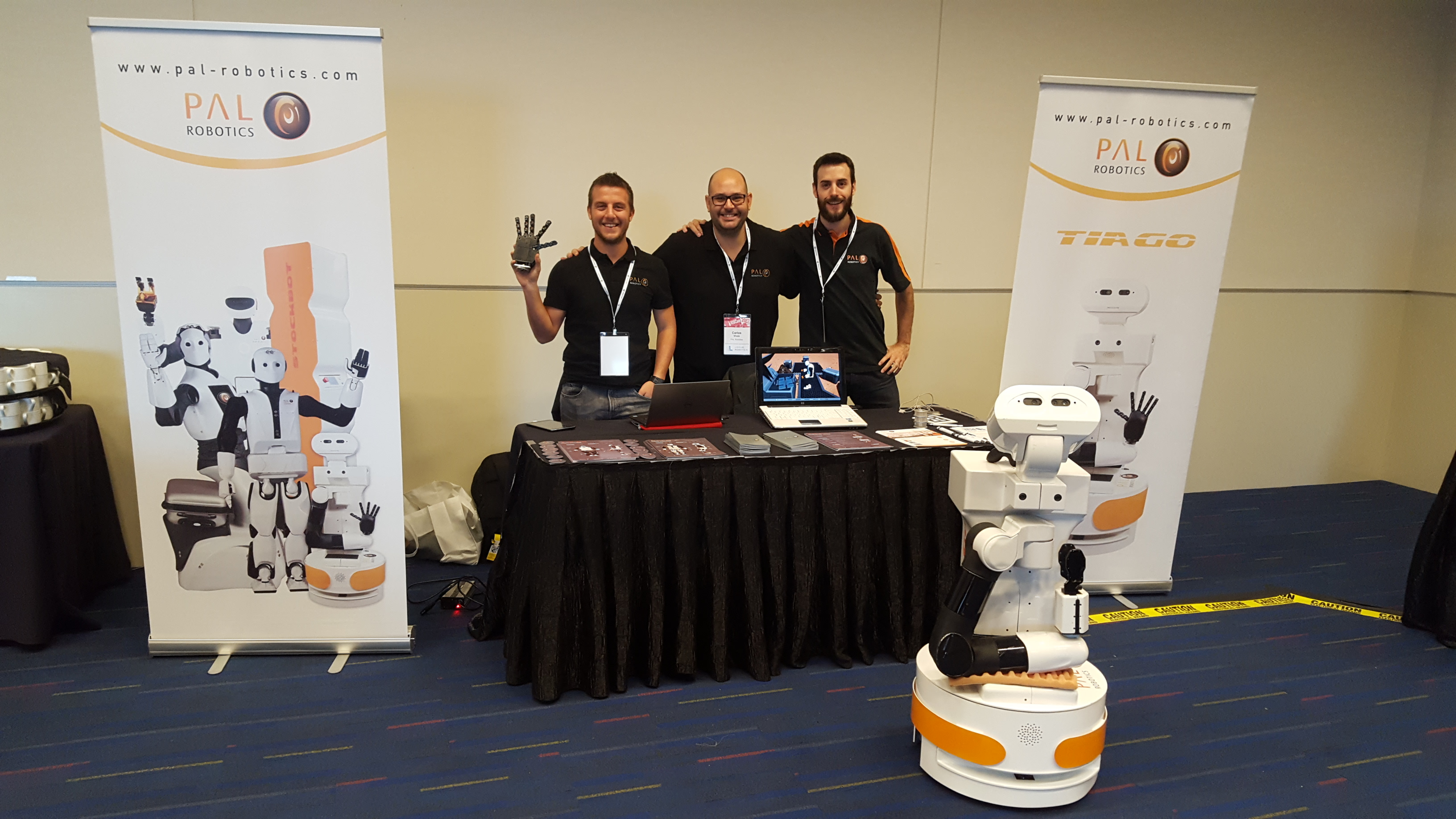 ROSCon with TIAGo robot