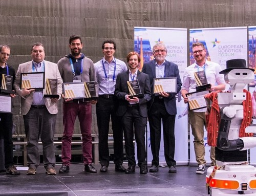 The European Robotics League (ERL) Winners, unveiled at ERF2018!