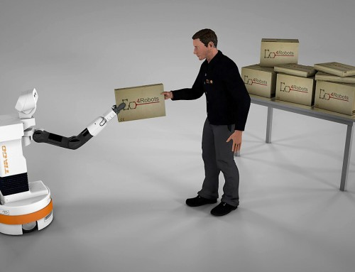 Calling for (robotic) help: Human-robot cooperation to transport goods