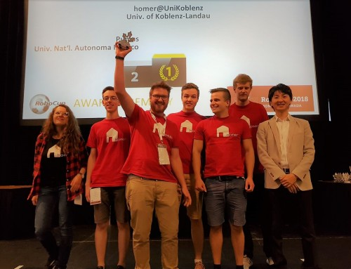 Homer Team, winners of RoboCup@Home 2018 OPL!