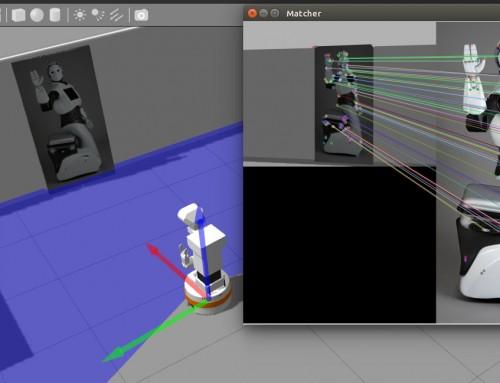 TIAGo robot ROS Tutorial 4: OpenCV