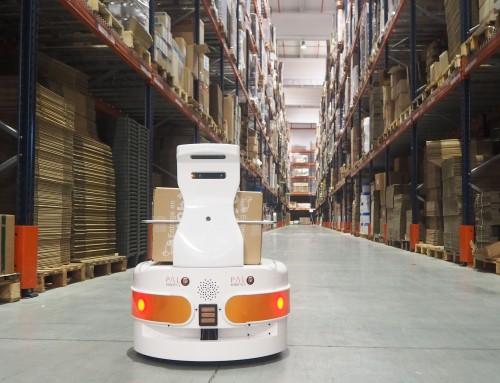Advanced Factories 2019: Autonomous mobile robots for logistics and stock control