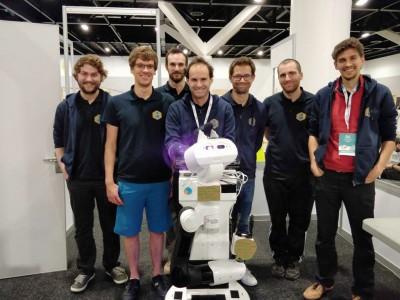 CATIE-Robotics-team robocup 2019 tiago-robot-epok