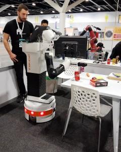 Robocup 2019 Homer-Team-TIAGo-robot-grasping