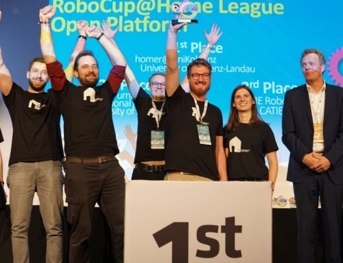 TIAGo at RoboCup 2019 podium: Homer Team wins the OPL (again) and CATIE Team goes 3rd!