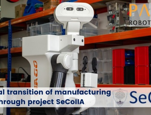 Safe digital transition of manufacturing industry through project SeCoIIA