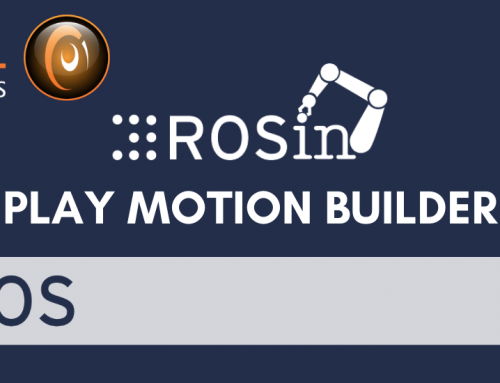 Successful launch of ROS Play Motion Builder tool for easy creation of robot motions