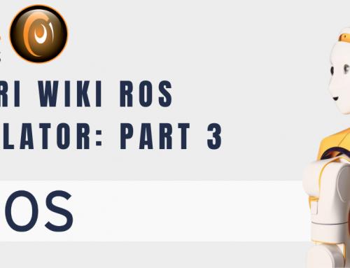ARI Wiki ROS simulator: remote control robot ARI